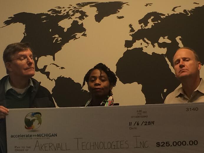 SISU Science Team Looking Smug for Receiving an award