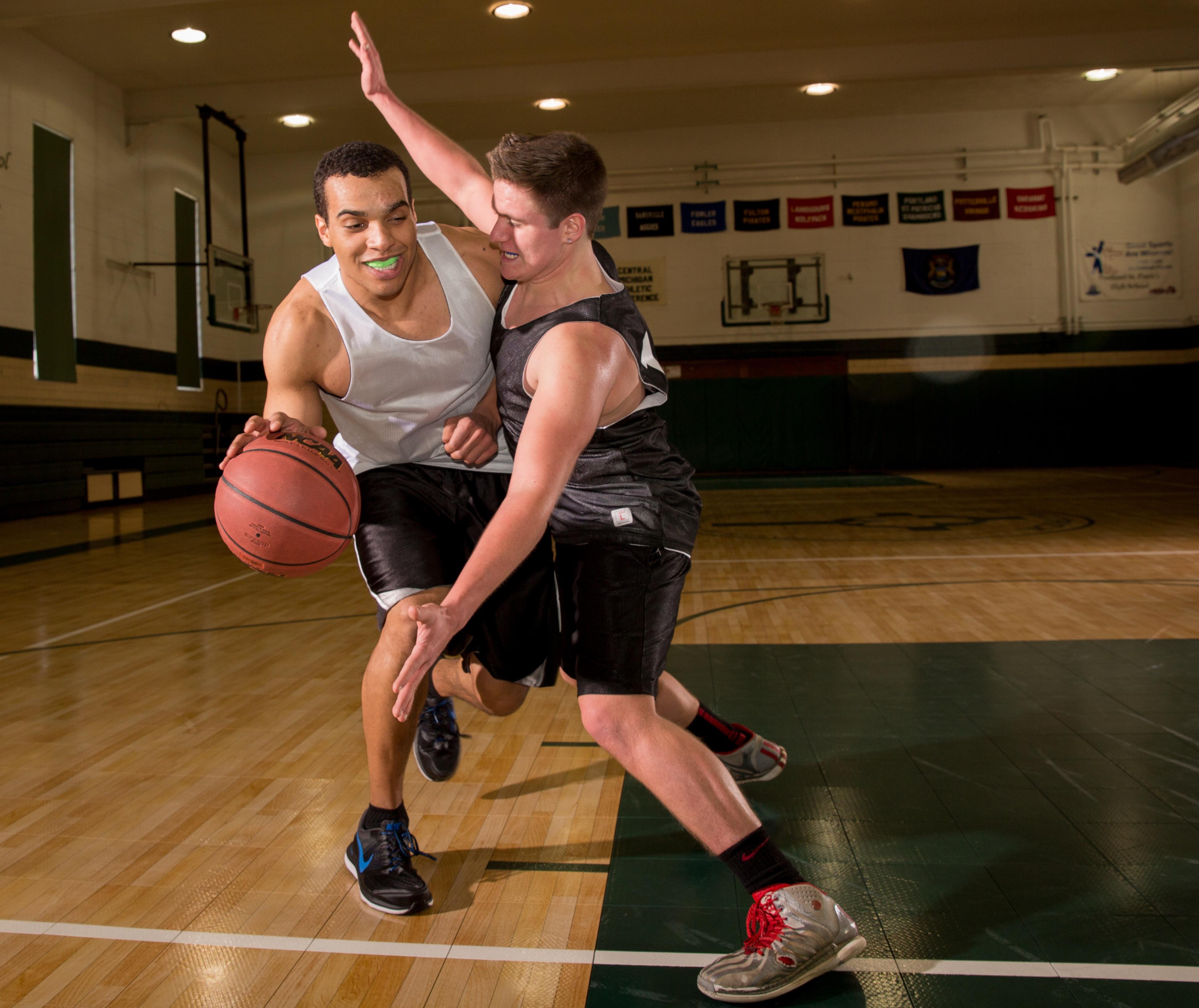 SISU mouthguard basketball
