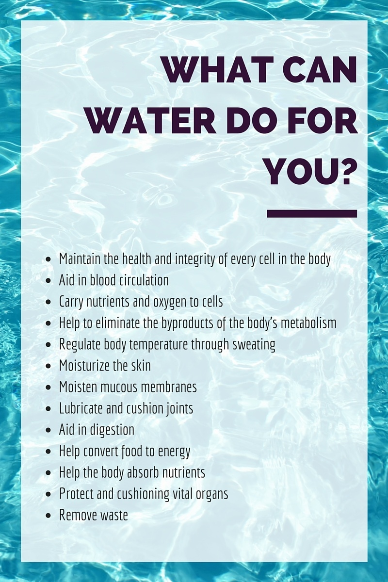 water benefits hydration