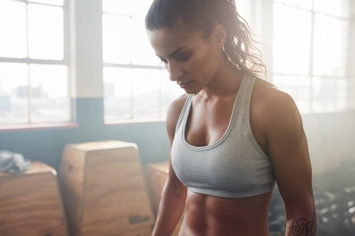 athlete focused