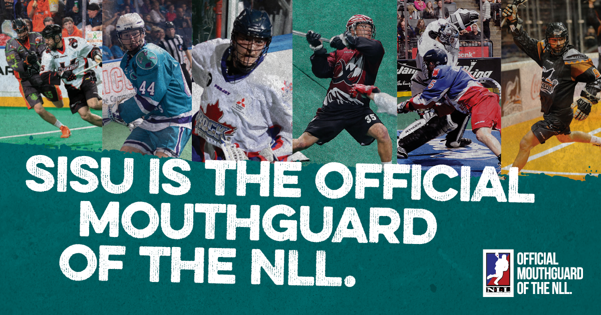SISU Guard is the official mouthguard of the NLL