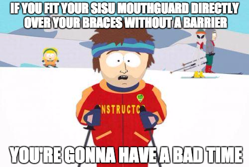 Braces Mouthguard SISU